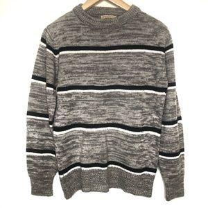 Vintage Lawrence Knitwear Retro Striped Sweater